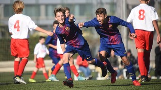 FCB Masia - Academy: Top 5 goals 11-12 November
