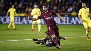 Villarreal 0 - FC Barcelona 2 (1 minuto)