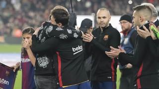 Así fue el último día de Mascherano en el Camp Nou