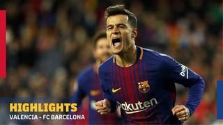 Valencia - FC Barcelona (1 minute)