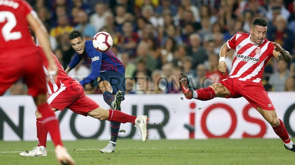 صور مباراة : برشلونة - جيرونا 2-2 ( 23-09-2018 )  99551621
