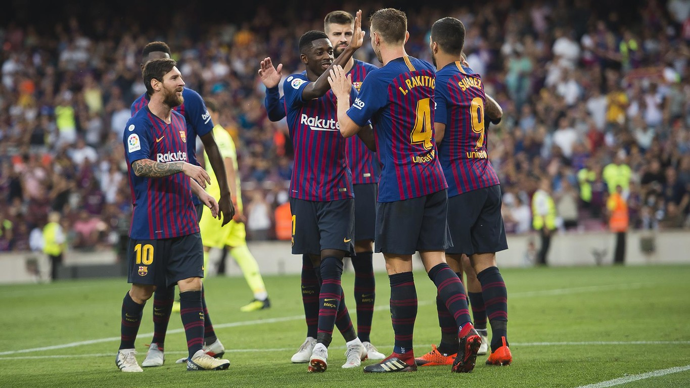 FC Barcelona are the side with the most varied distribution of goalscorers after five LaLiga matchdays