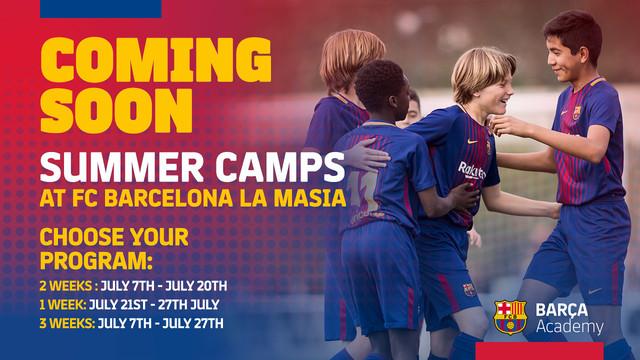 El FC Barcelona organiza sus primeros campus de verano residenciales en la  Ciutat Esportiva. BARCELONA. El Barça Academy ... 4319324f5b1