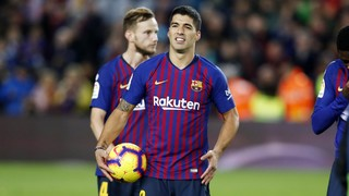 Luis Suárez notches 4th El Clásico hat trick at Camp Nou in last 31 years