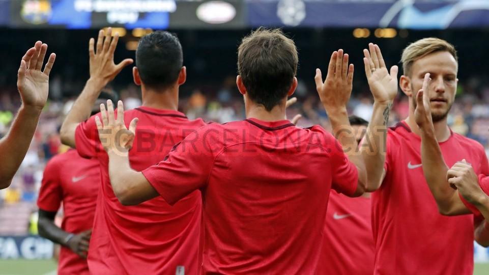 صور مباراة : برشلونة - PSV إندهوفن 4-0 ( 18-09-2018 )  98934407