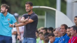 Les sensacions de Gerard López, Marc Cardona i Oriol Busquets després del primer partit de pretemporada a l'Escala