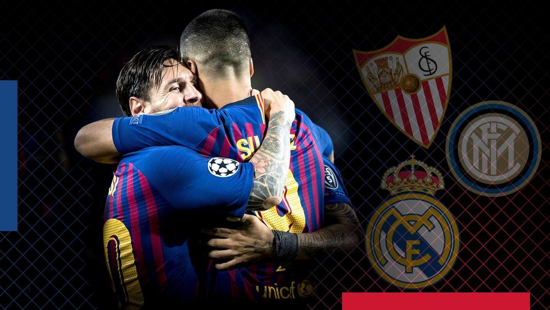 En només vuit dies, els homes d'Ernesto Valverde disputaran un total de tres partits a l'estadi blaugrana contra tres rivals d'un altíssim nivell