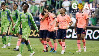 Goal Morning: Leo Messi vs Seattle Sounders