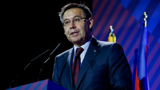 Bartomeu demands respect for Barça