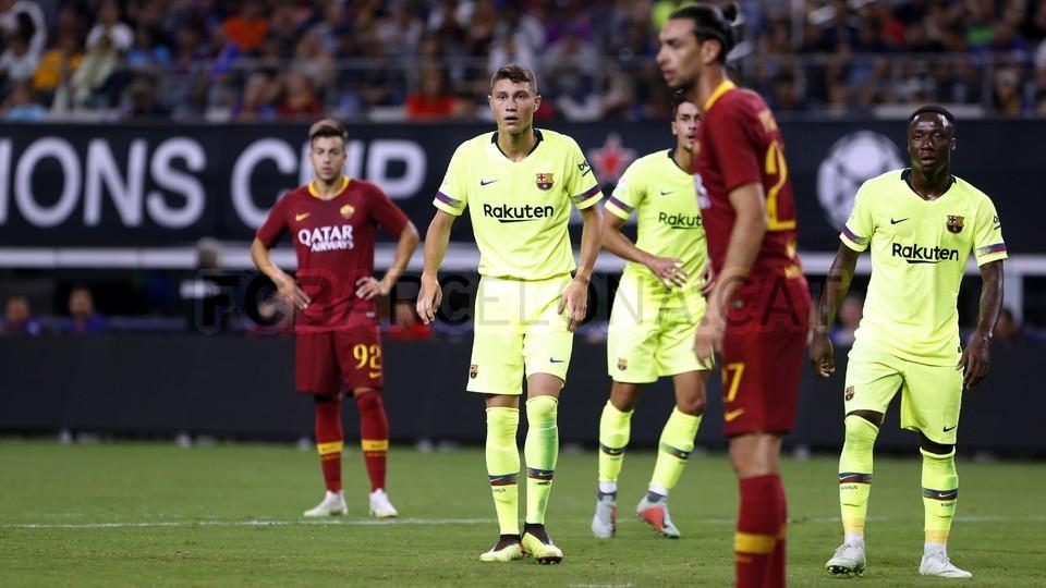 صور مباراة : برشلونة - روما 4-2 ( 01-08-2018 )  95181448