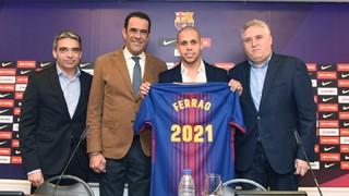 Ferrao renueva con el Barça Lassa hasta el 2021