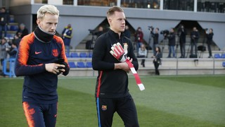 Following Friday training, Ernesto Valverde reveals which eighteen players are on his list for the 8.45pm CET kick-off at Camp Nou on Saturday
