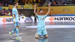 Györ 1 - FC Barcelona Lassa 7 (UEFA Futsal Cup)