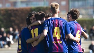 Juvenil A 3 - Lleida 0 (Liga)