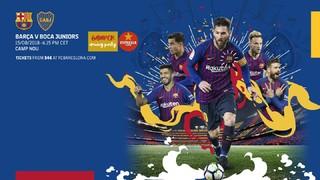 Barça'nın geleneksel sezon açılışı olan Gamper Kupası'nın yayıncı kuruluşlarını gösteren global bir rehber