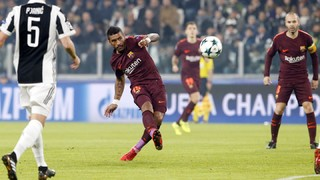 The best action from the game at the Juventus Stadium which has handed Ernesto Valverde's team a place in the last 16 of the Champions League as group winners