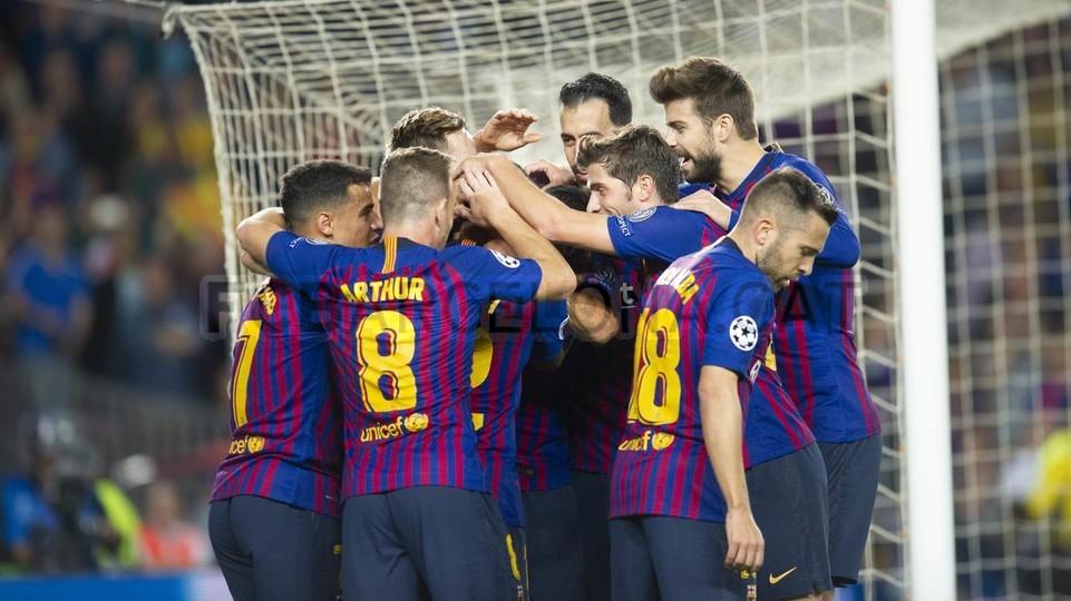 صور مباراة : برشلونة - إنتر ميلان 2-0 ( 24-10-2018 )  101521034