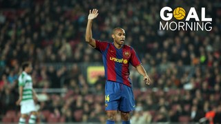 GOAL MORNING!!!  Avui Thierry Henry fa 40 anys!!! Per molts anys, monsieur!!!