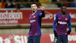 Cultural Leonesa 0 - FC Barcelona 1 (3 minutes)