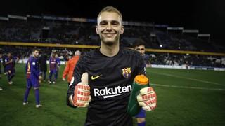 La tanda de penalties entre el Barça y el Espanyol (4-2)