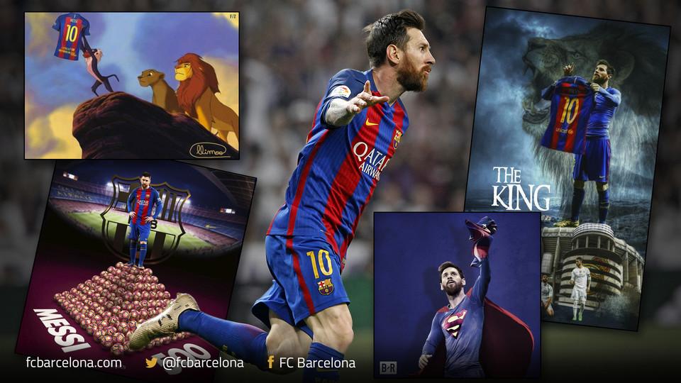 El gol 500 de Leo Messi levanta pasiones en las redes sociales