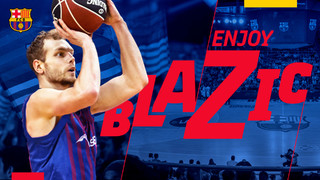 Jaka Blazic: An intense and physical presence for Barça Lassa