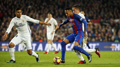 The Clásico to be played on Sunday 23 April at 8.45pm CET