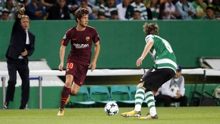 """Sergi Roberto: """"La victòria fora de casa sempre és important. Estem contents per tenir tres punts més"""