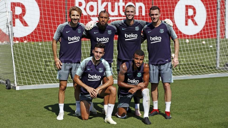 تدريبات مكثفة في برشلونة استعداداً لمباراة الأحد ضد جيرونا 21-09-2018 99246862
