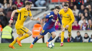 FC Barcelona 1 - At. Madrid 0 (3 minutos)