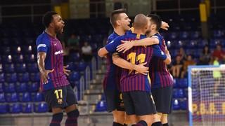 Industrias Santa Coloma - Barça Lassa: ¡Campeones de la Copa Catalunya! (1-4)