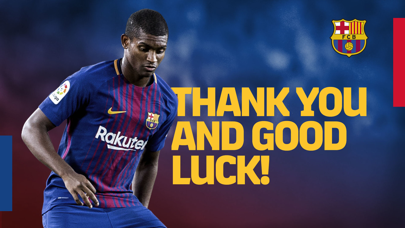 FC Barcelona and the Italian club have reached an agreement for the transfer of the Brazilian defender. The Serie A side will pay FC Barcelona 6 million euros