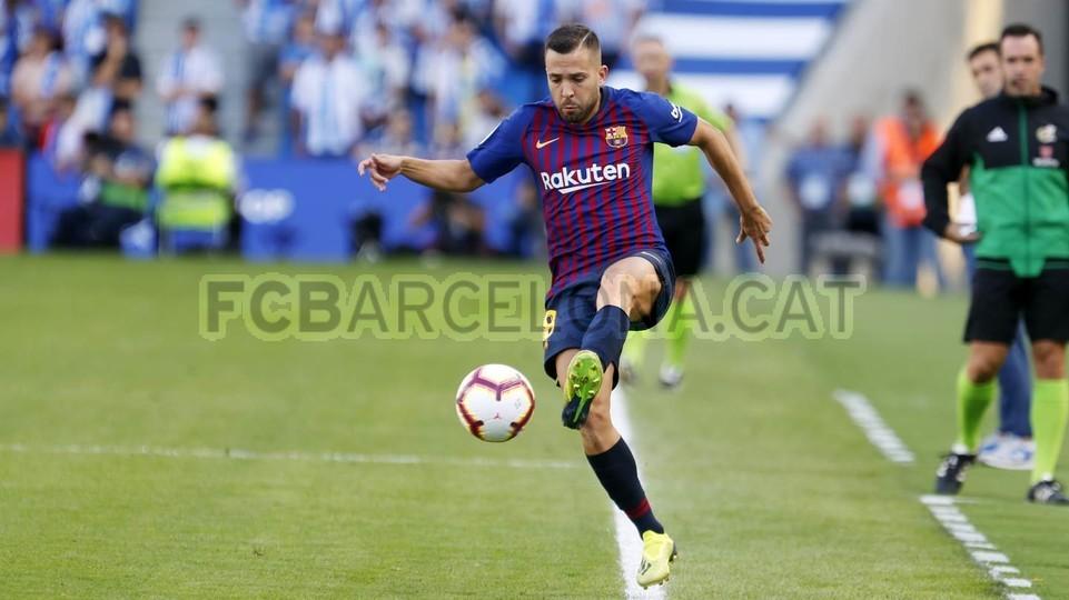 صور مباراة : ريال سوسيداد - برشلونة 1-2 ( 15-09-2018 ) 98507404