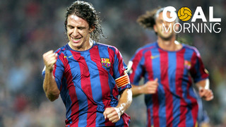 ¡Goal Morning! Today we wake up with this great goal by Carles Puyol