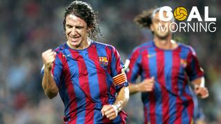 ¡Goal Morning! Hoy nos despertamos con este golazo de Carles Puyol