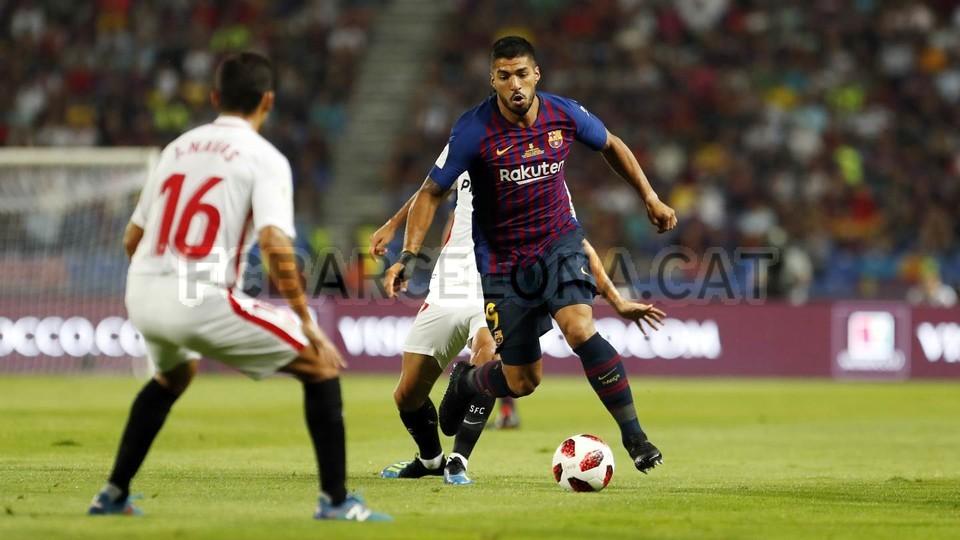 صور مباراة : برشلونة - إشبيلية 2-1 ( 13-08-2018 )  95761804