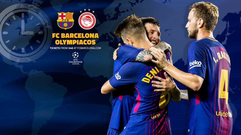 FC バルセロナ - オリンピアコ戦...