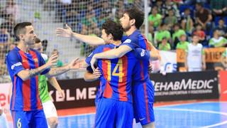 Palma Futsal 2 - FC Barcelona Lassa 5 (Playoff LNFS)