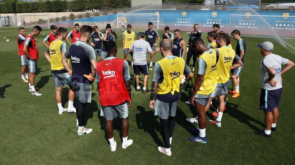 تدريبات الفريق الأول 24-07-2018 94587021