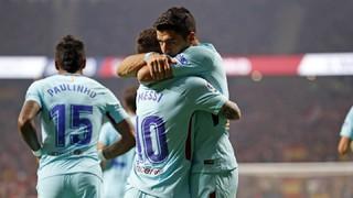 Atlético de Madrid 1 - FC Barcelona 1 (1 minuto)