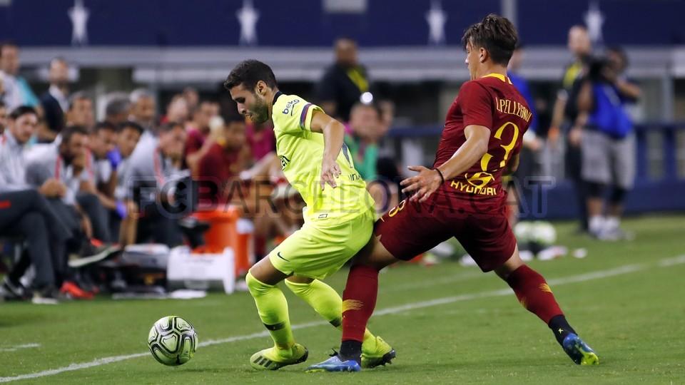 صور مباراة : برشلونة - روما 4-2 ( 01-08-2018 )  95181454