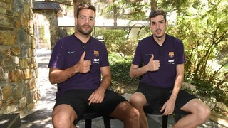 Dídac y Adri Ortego, más ADN de La Masia para el Barça Lassa