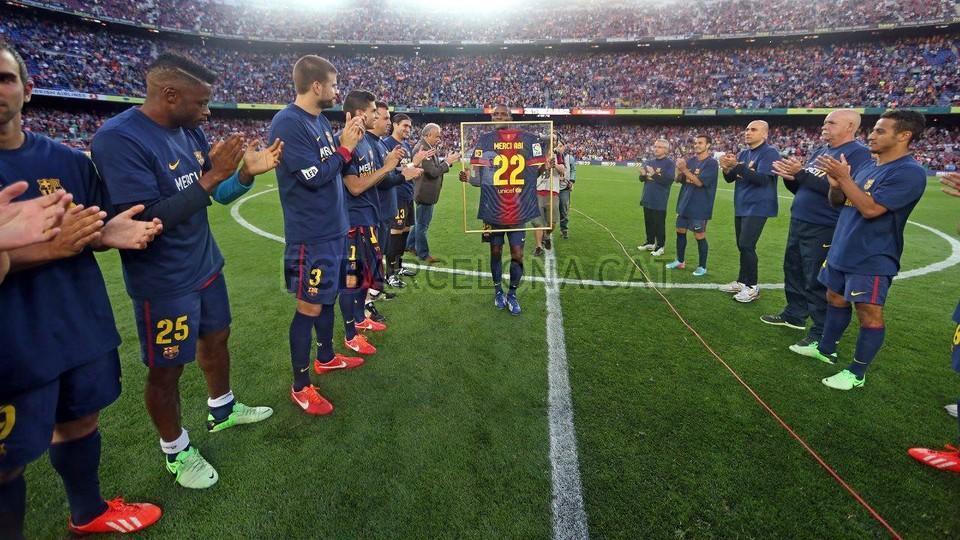عکس بازی بارسلونا یونتوس