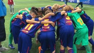 FC Barcelona Aleví A 1 - Deportivo 1