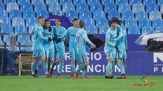 Real Zaragoza 1 - FC Barcelona B 1