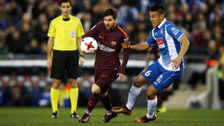 The best of the action from Wednesday's cup derby, which produced an adverse result but one that the blauna will feel confident of turning around next week at the Camp Nou