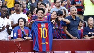 Washington, enamorada del Barça