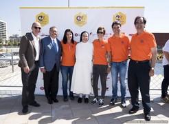 Jordi Cardoner ha visitado esta actividad lúdica en la que han participado más de 800 niños con discapacidades diversas y que cuenta con el apoyo de la Fundación FCB