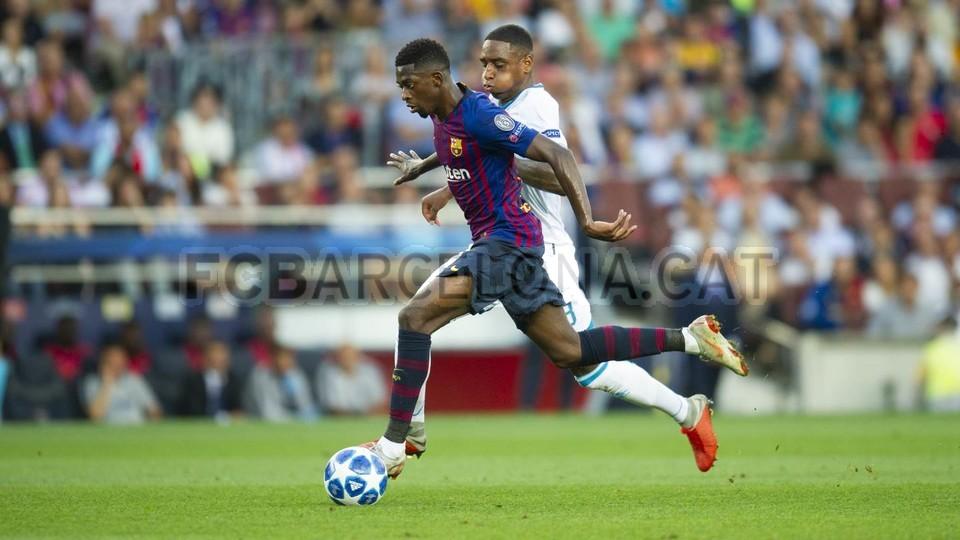 صور مباراة : برشلونة - PSV إندهوفن 4-0 ( 18-09-2018 )  98884242