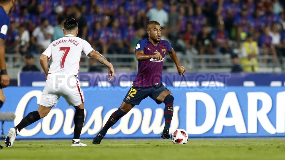 صور مباراة : برشلونة - إشبيلية 2-1 ( 13-08-2018 )  95761810